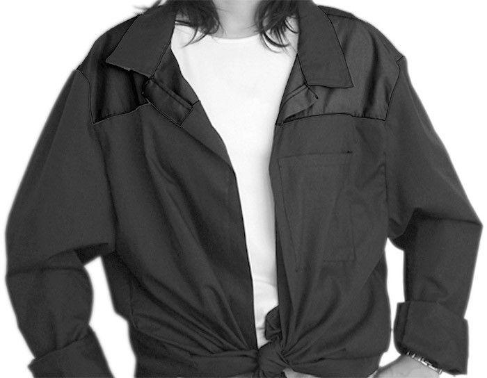Blusones peñas cuello camisa 1 color de algodon imagen 1