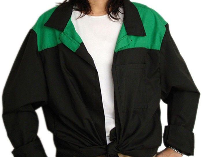 Blusones peñas cuello camisa 2 colores personalizado de algodon con logo vista 1