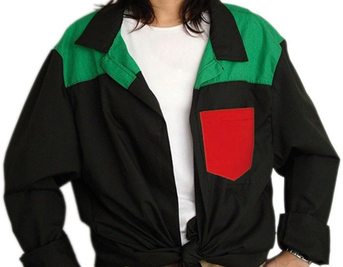Blusones peñas cuello camisa 3 colores niño de algodon vista 1