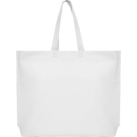 Bolsas compra roly sea de plástico con publicidad vista 1