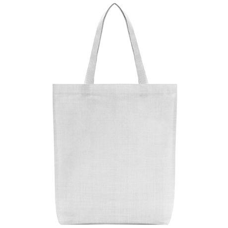 Bolsas compra roly cliff de plástico con publicidad vista 1
