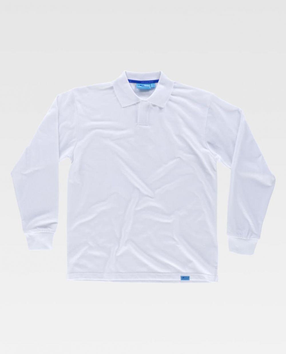 Polos para trabajar workteam ml pique algodon tratamiento antibacteriano de 100% algodón para personalizar vista 1