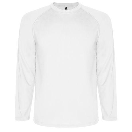 Camisetas técnicas roly montecarlo ls niño de poliéster imagen 1