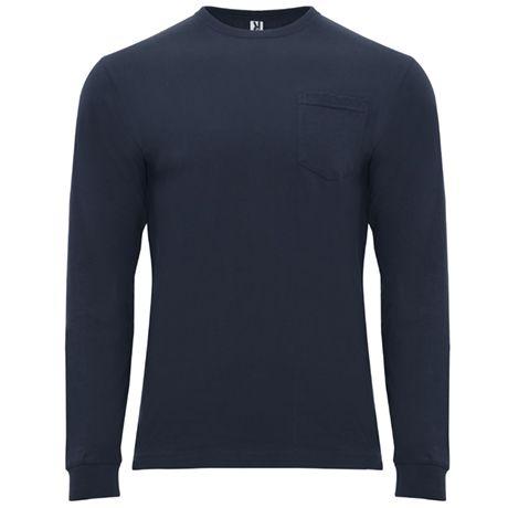 Camisetas manga larga roly shiba de 100% algodón para personalizar vista 1