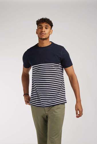 Camiseta de manga corta Breton