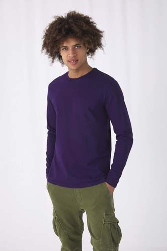 Camiseta #E190 manga larga hombre