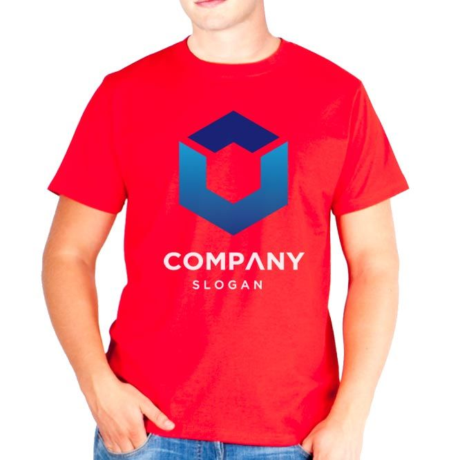 Camisetas manga corta keya mc130 de 100% algodón imagen 1