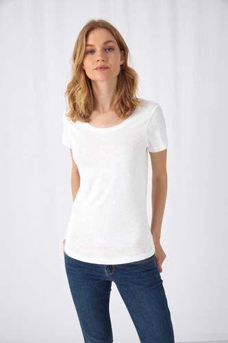 Camiseta Organic Slub Inspire mujer