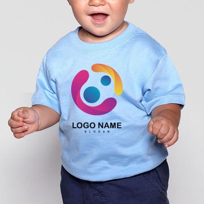 Camisetas manga corta roly baby de 100% algodón para personalizar vista 3