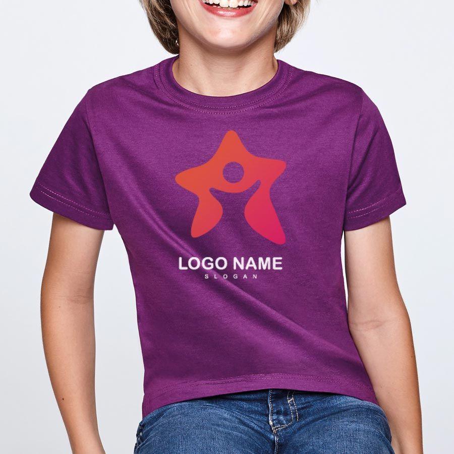 Camisetas manga corta roly beagle niño de 100% algodón con impresión imagen 1