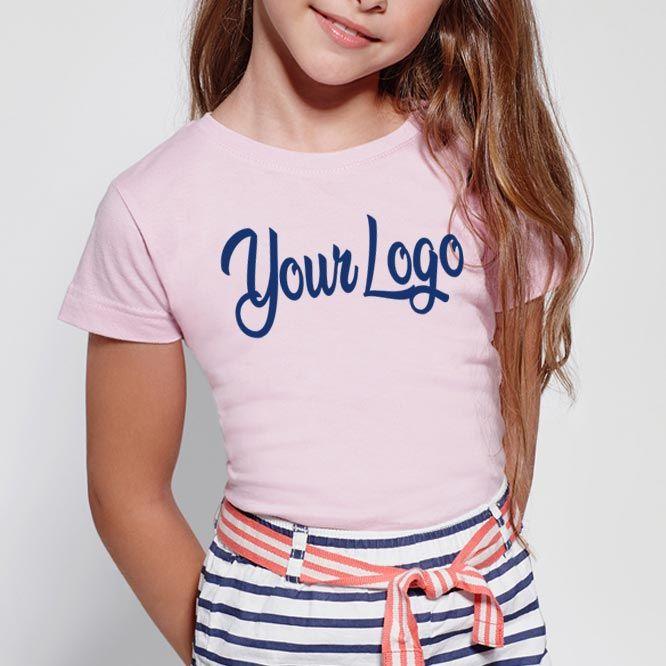 Camisetas manga corta roly jamaica mujer niño de 100% algodón imagen 1