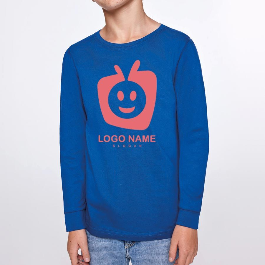 Camisetas manga larga roly ponter niño de 100% algodón vista 2