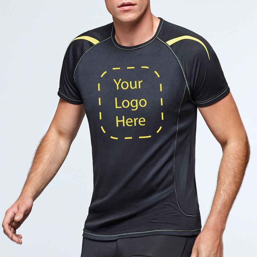 Camisetas técnicas roly sepang de poliéster con publicidad imagen 2