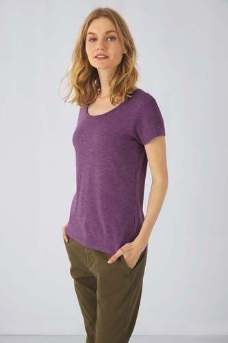 Camiseta Triblend mujer