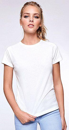 Camiseta GOLDEN WOMAN blanca