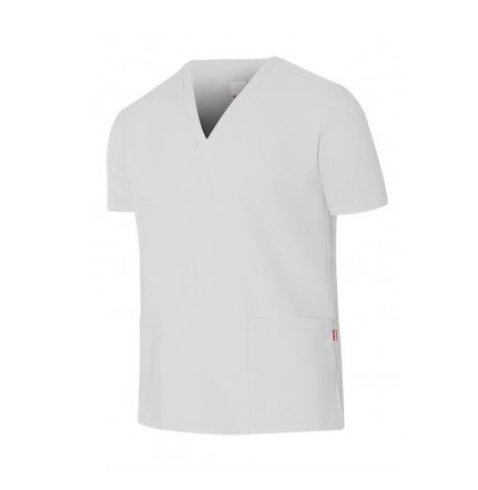 Casacas sanitarias camisola pijama microfibra manga corta de microfibra vista 1