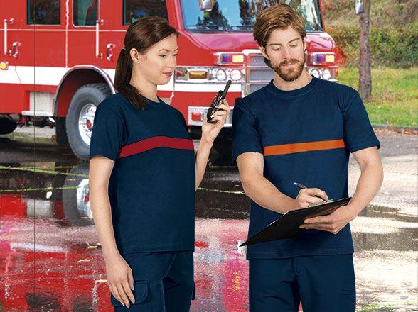 Camisetas de trabajo valento server vista 1