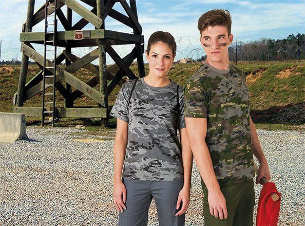 Camisetas manga corta valento soldier con impresión vista 1
