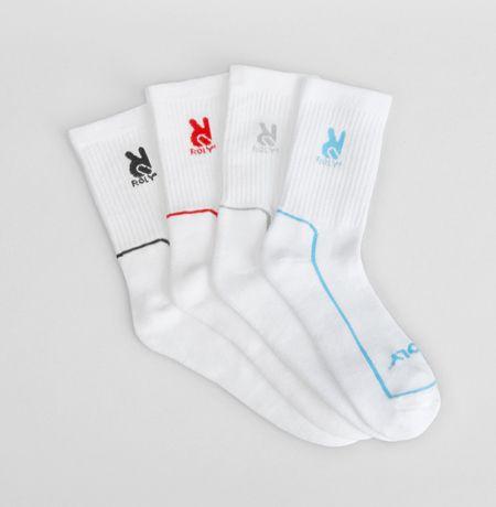 Underwear roly calcetas abdel de poliéster con logo vista 1