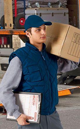 Chalecos de trabajo valento chalecos trabajo con bolsillos con logo vista 1