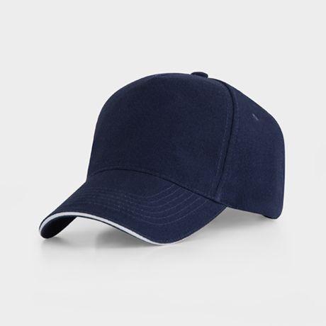 Gorras serigrafiadas roly eris de 100% algodón para personalizar vista 1