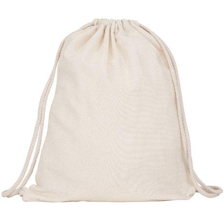 Mochilas cuerdas petate roly mirlo de 100% algodón para personalizar vista 1