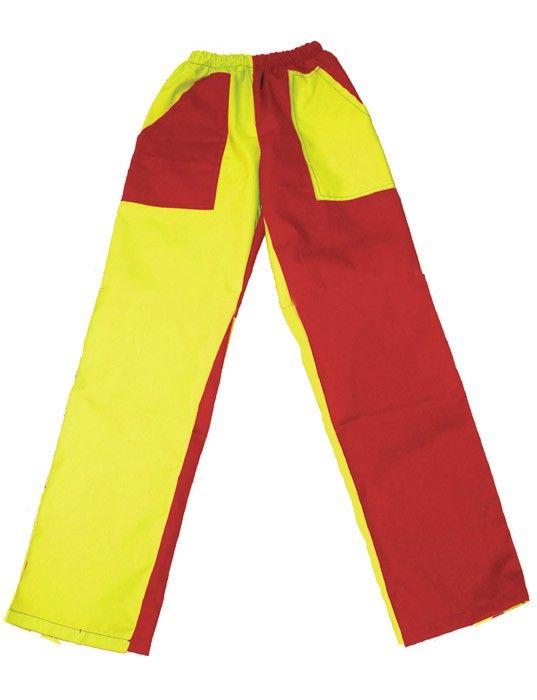 Pantalones peñas peñas bicolor mod 03 de algodon vista 1