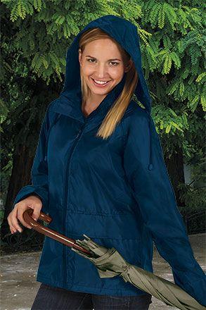 Chubasqueros y cortavientos valento ropa de lluvia chaqueta adulto walter con logo vista 1