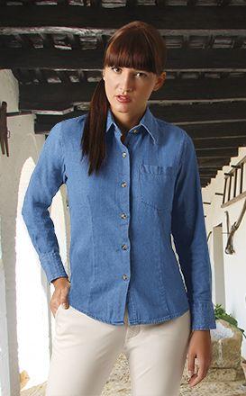 Camisas manga larga valento panter para personalizar imagen 1