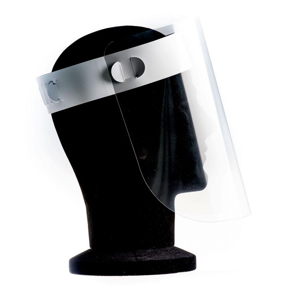Pantalla facial facial apet (caja de 100 unidades) con logo vista 1
