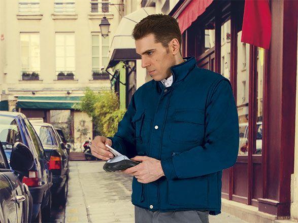 Chaquetas de trabajo valento chaqueta desmontable valento miracle de algodon vista 1