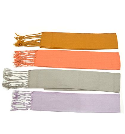 Fajines peñas regional algodón con flecos 28x300 cm de 100% algodón vista 1
