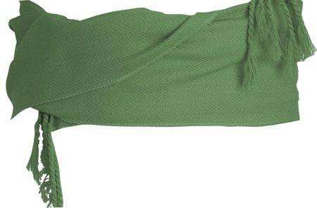 Fajines peñas regional algodón con flecos 12x240 cm de 100% algodón con publicidad vista 1