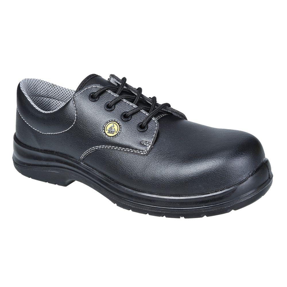 Zapatos de trabajo zapato portwest compositelite esd laced s2 vista 1