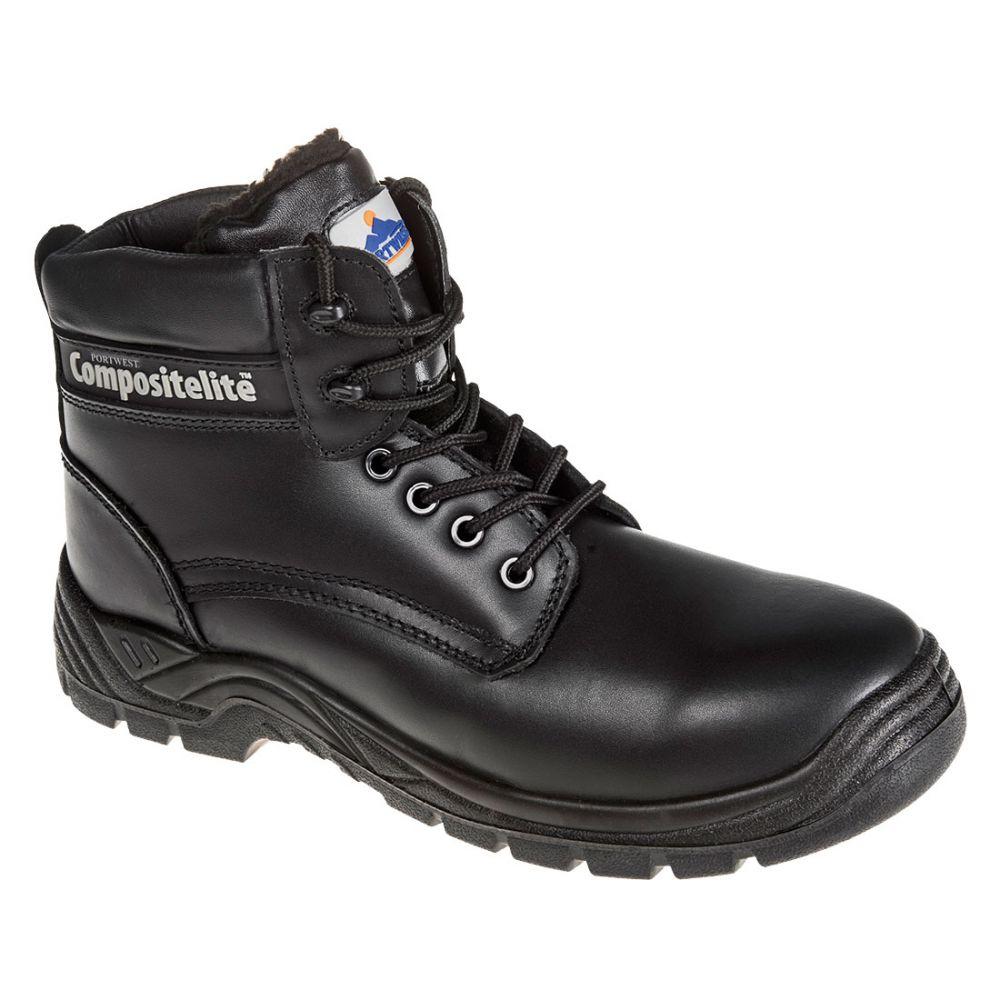 Zapatos de trabajo bota con forro lanoso compositelite thor s3 ci vista 1