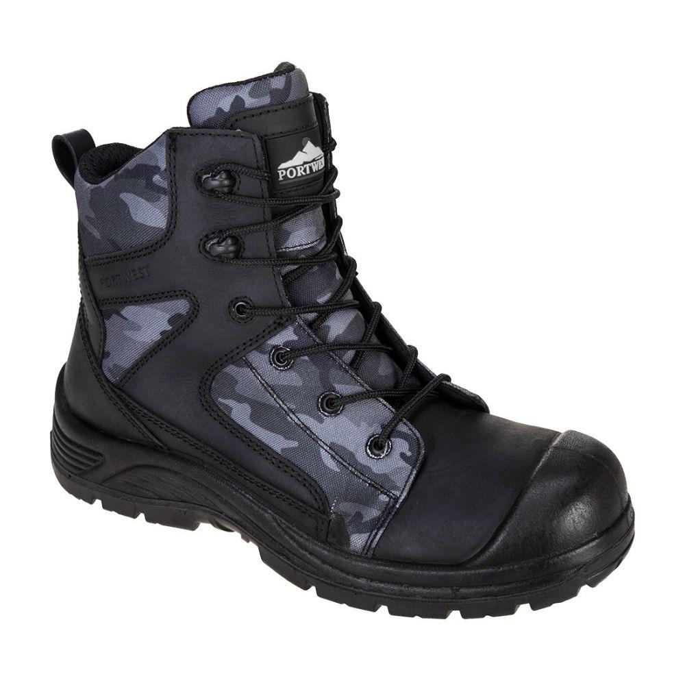 Zapatos de trabajo bota portwest compositelite camo strike s3 wr vista 1