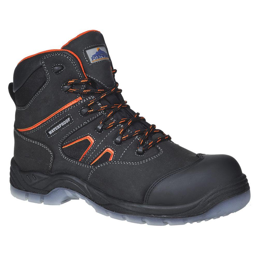 Zapatos de trabajo bota portwest compositelite âall weather s3 wr vista 1