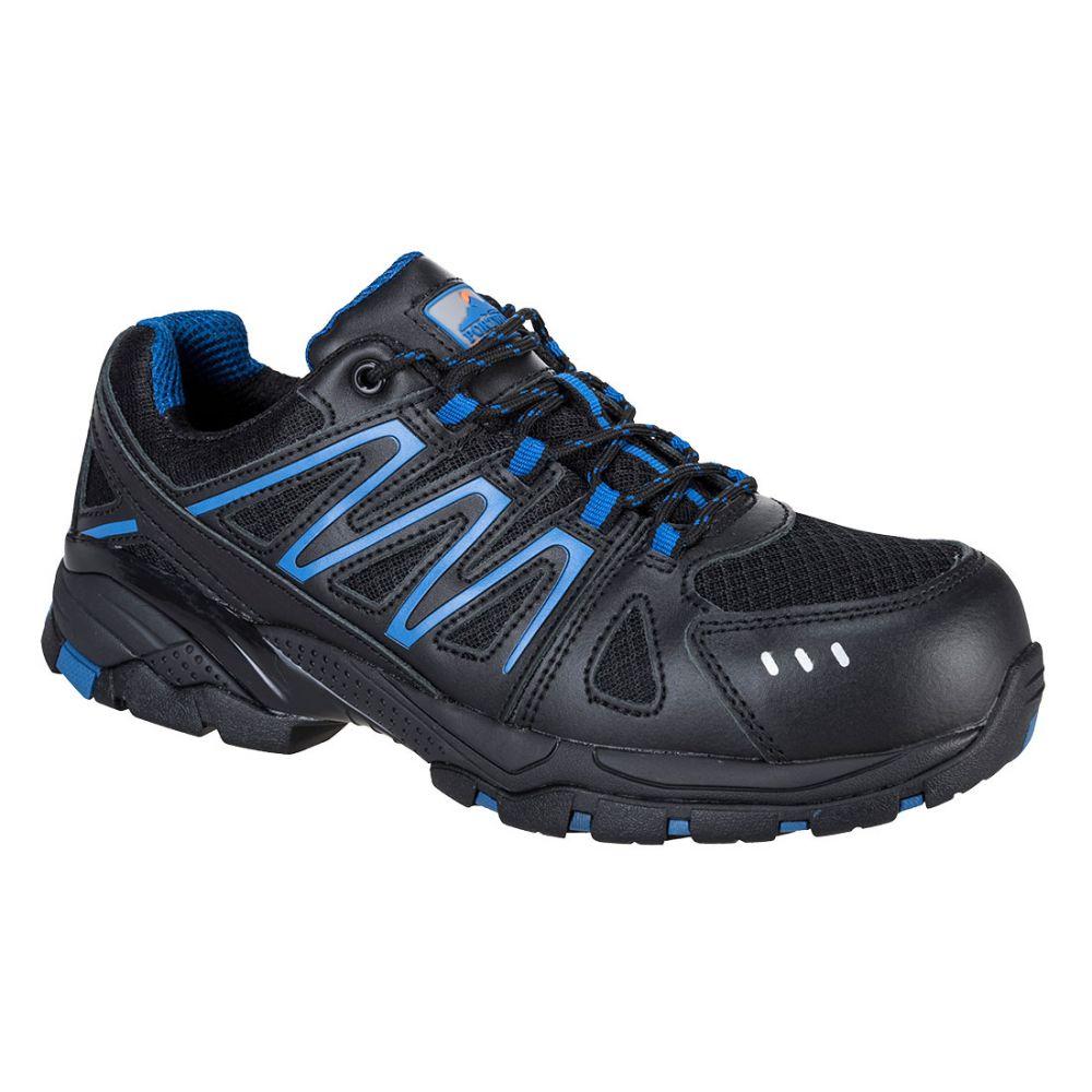 Zapatos de trabajo deportivo portwest compositelite vistula s1p hro con logo vista 1