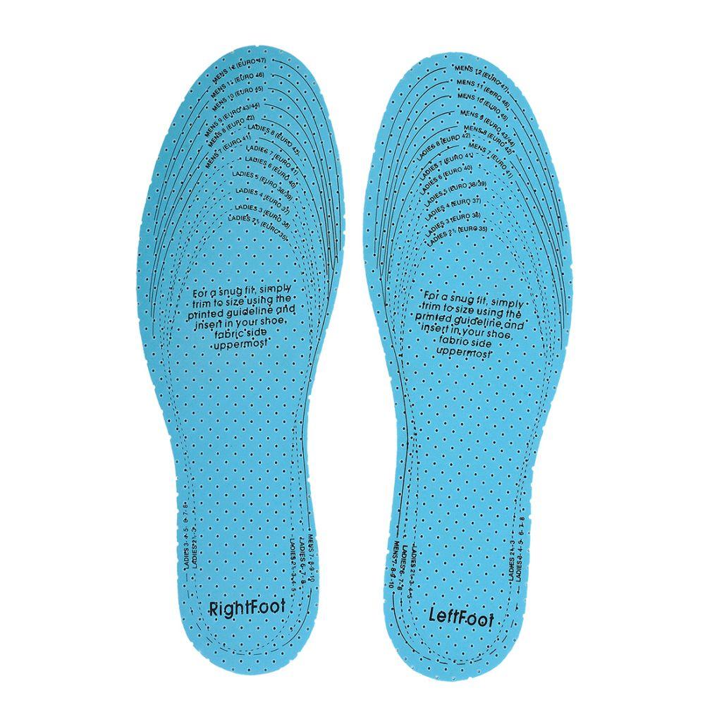 Zapatos de trabajo plantilla actifresh vista 1