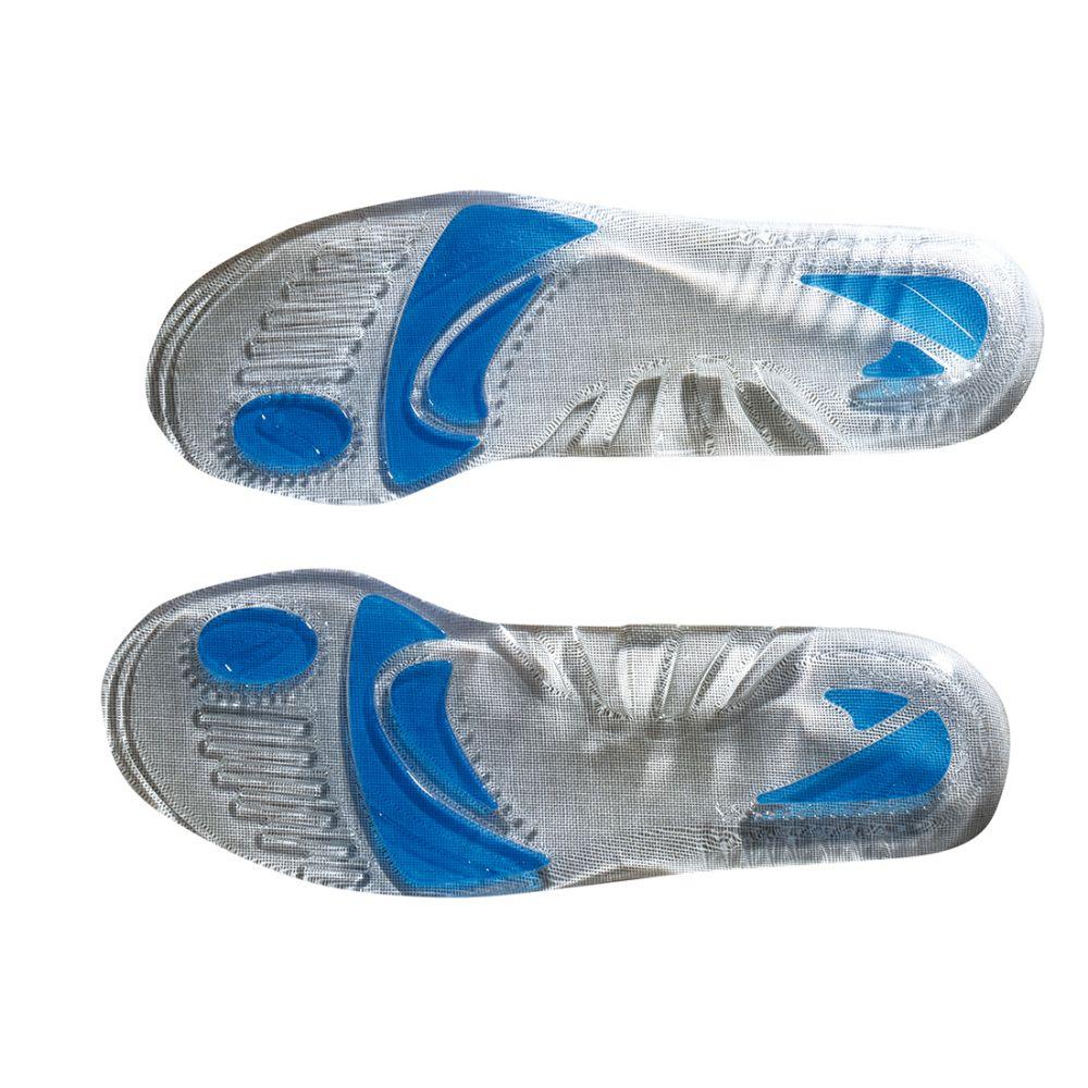 Zapatos de trabajo plantilla almohadillada con gel con impresión vista 1