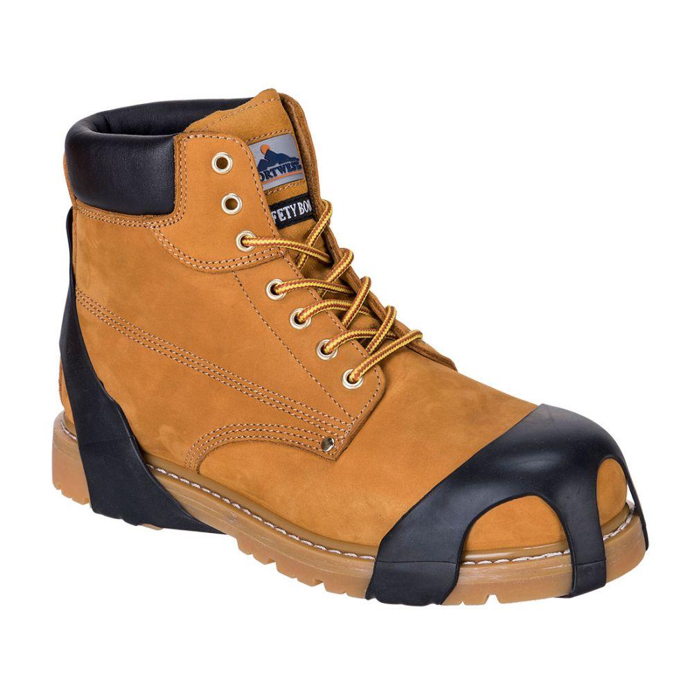 Zapatos de trabajo cubre suelas vista 1