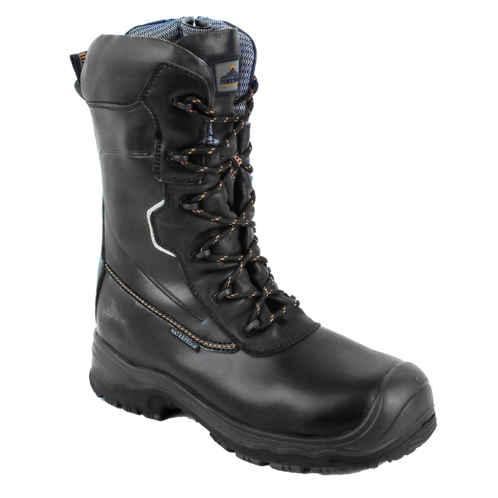 Calzado seguridad bota de seguridad portwest compositelite traction 10 inch (25cm) s3 hro ci wr para personalizar vista 1