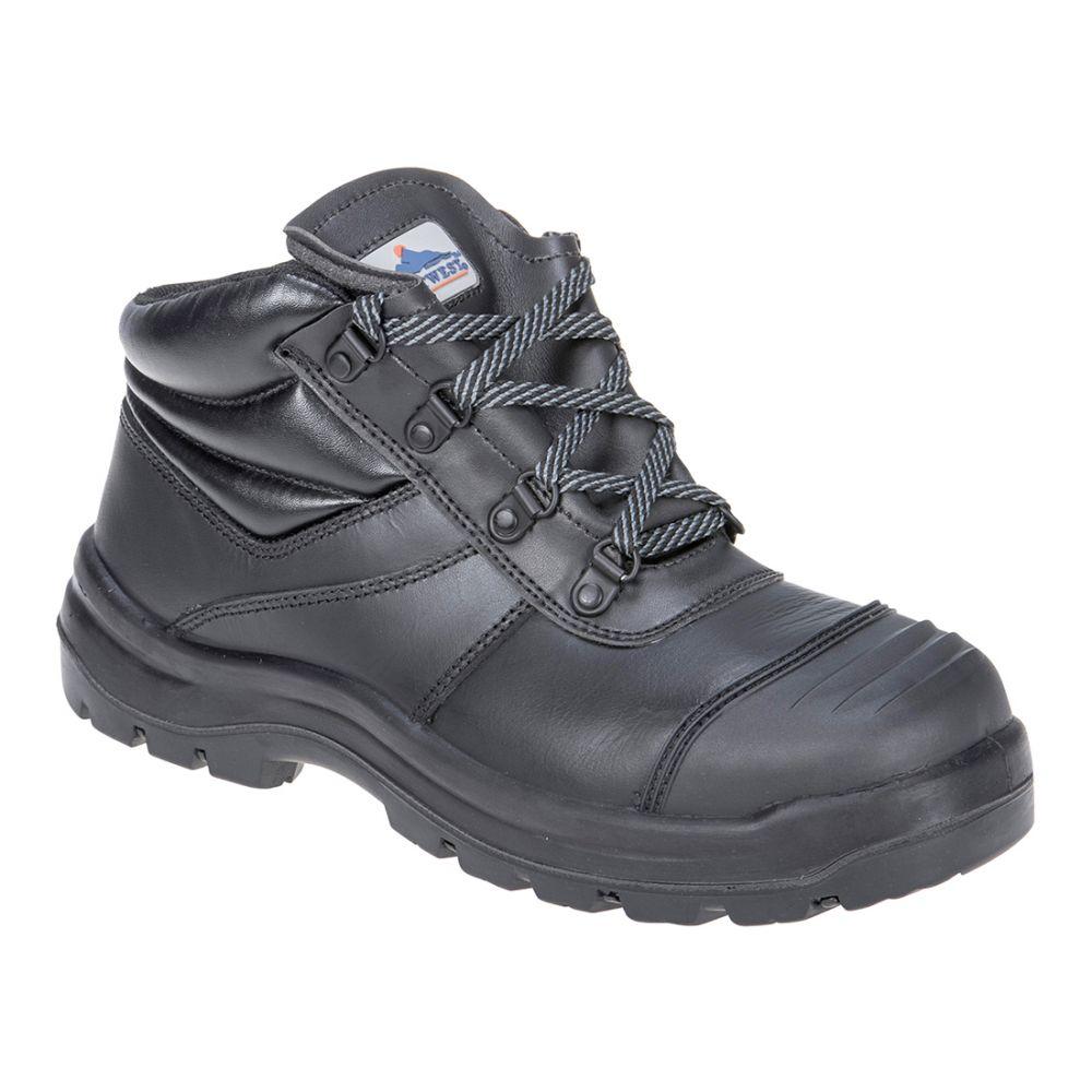 Zapatos de trabajo bota de seguridad trent s3 hro ci hi fo con impresión vista 1