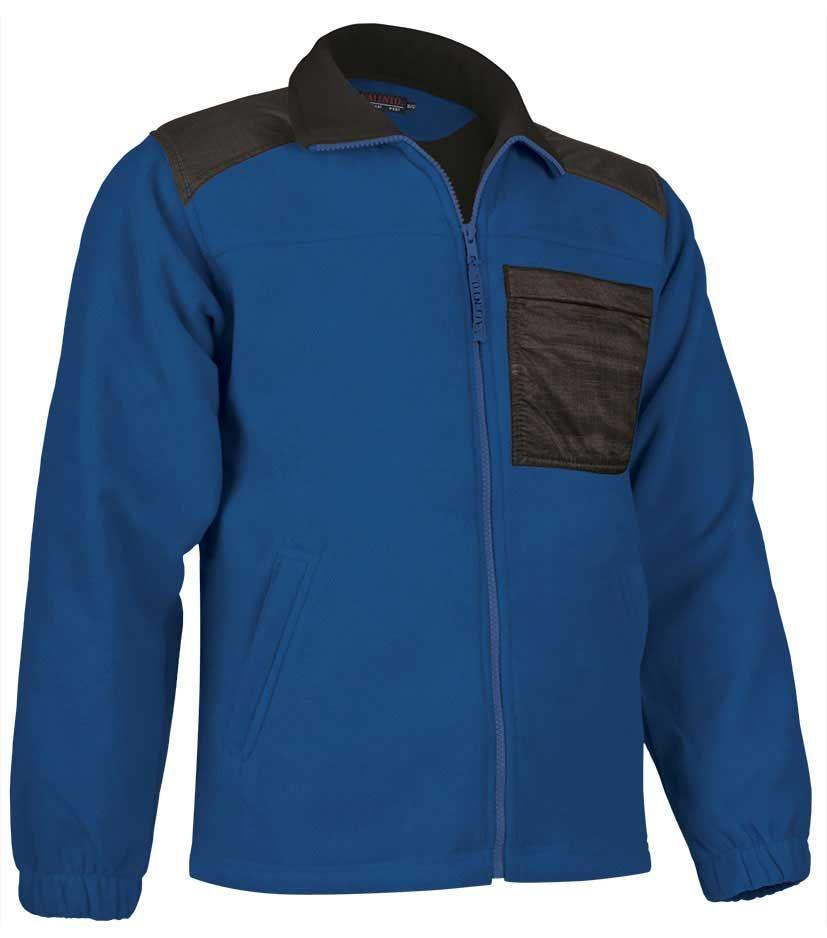 Ropa térmica de trabajo valento chaqueta valento polar nevada de poliéster vista 1