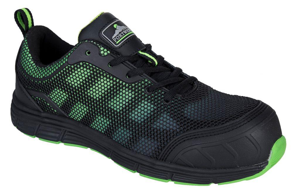 Zapatos de trabajo deportivo bajo portwest compositelite ogwen s1p vista 1