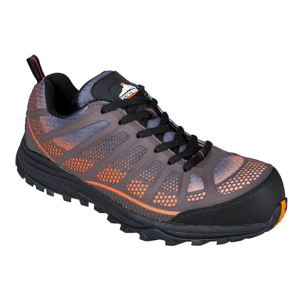 Zapatos de trabajo deportivo bajo portwest compositelite spey s1p para personalizar vista 1