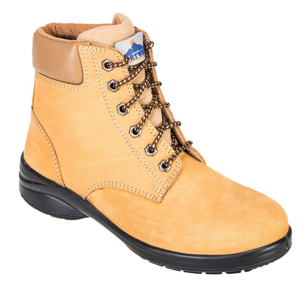 Calzado seguridad bota de mujer steelite louisa s3 con impresión vista 1