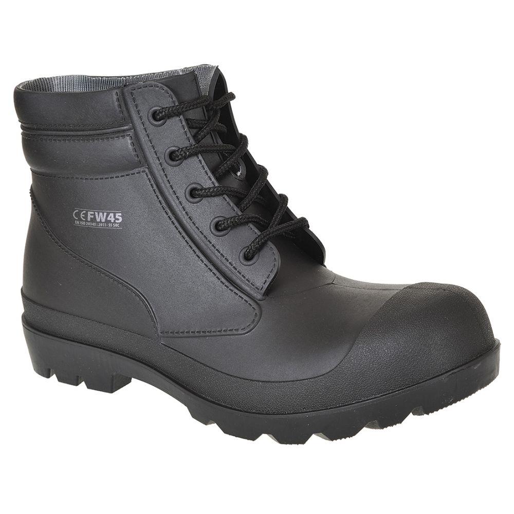 Zapatos de trabajo bota pvc âs5 para personalizar vista 1