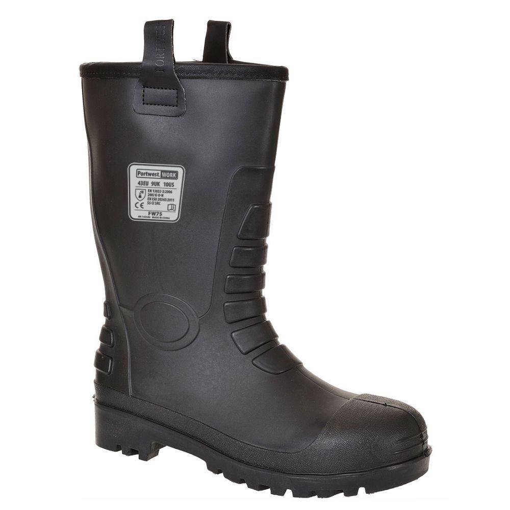 Zapatos de trabajo bota rigger neptuno âs5 ci con impresión vista 1