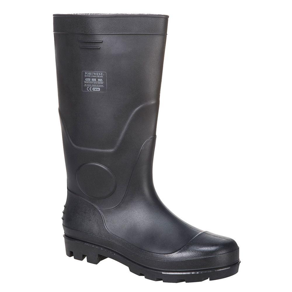 Zapatos de trabajo bota wellington pvc 04 con impresión vista 1